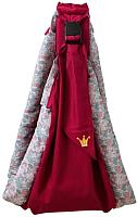 Слинг Polini Kids Disney Последний богатырь с вышивкой (принцесса/розовый) -