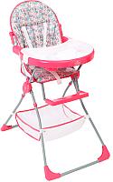 Стульчик для кормления Polini Kids Disney 252 Последний богатырь (принцесса/розовый) -