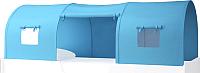 Игровой тент для кровати-чердака Polini Kids 4100 (голубой) -
