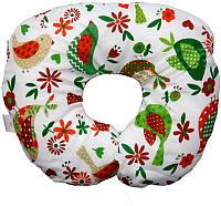 Подушка детская Polini Kids Кантри воротник (зеленый) -