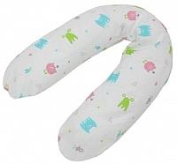 Подушка для беременных Polini Kids Монстрики (белый) -