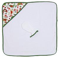 Комплект для купания Polini Kids Кантри 2 в 1 (зеленый) -
