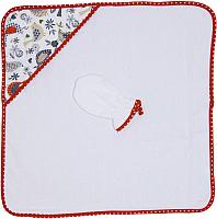 Комплект для купания Polini Kids Кантри 2 в 1 (красный) -