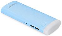 Портативное зарядное устройство Esperanza Fermion 10000mAh / EMP114B (голубой) -