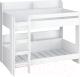 Двухъярусная кровать Polini Kids Simple 5000 (белый) -