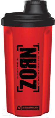 Шейкер спортивный IronMaxx I00003011 (700мл, красный/черный)