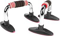 Упоры для отжимания Torres Push-Up Bars PL5015 (черный/красный) -