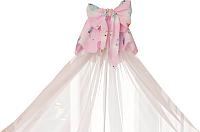 Балдахин на кроватку Polini Kids Мишки (розовый) -