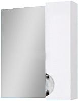 Шкаф с зеркалом для ванной Юввис Оскар Z-1 60 (правый, без подсветки) -