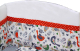 Бортик Polini Kids Кантри (120x60, красный) -