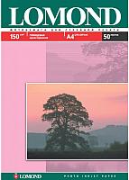 Фотобумага Lomond А4, 150 г/м, 50 л. / 0102018 (глянцевая) -