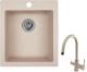 Мойка кухонная Granula GR-4201 + смеситель Spring 35-09L (классик) -