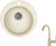 Мойка кухонная Granula GR-4801 + смеситель 35-05 (классик) -