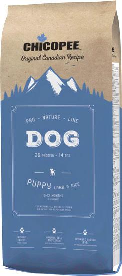 Купить Корм для собак Chicopee, PNL Puppy Lamb & Rice (20кг), Канада
