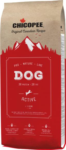 Купить Корм для собак Chicopee, PNL Dog Active (20кг), Канада