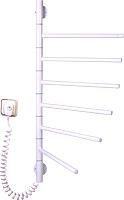 Полотенцесушитель электрический Элна Вертикаль-6 90x45 (белый) -