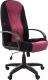 Кресло офисное Chairman 785 (черный/бордовый) -