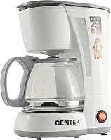 Капельная кофеварка Centek CT-1142 (белый) -