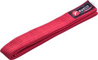 Пояс для кимоно RuscoSport 260см (красный) -