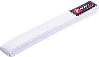 Пояс для кимоно RuscoSport 280см (белый) -