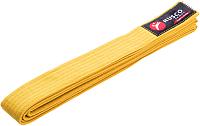 Пояс для кимоно RuscoSport 280см (желтый) -