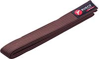 Пояс для кимоно RuscoSport 280см (коричневый) -