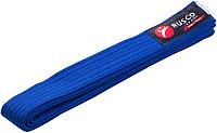 Пояс для кимоно RuscoSport 280см (синий) -