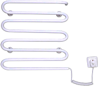Полотенцесушитель электрический Элна Волна-8 55x42 (белый) -