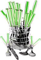 Набор столовых приборов Maestro MR-1531 (зеленый) -