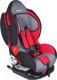 Автокресло Bambola Navigator Isofix / KRES1525 (серый/красный) -