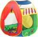 Детская игровая палатка Calida Домик 639 (+ 100 шаров) -