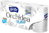 Туалетная бумага Grite Orchidea White (8рул) -