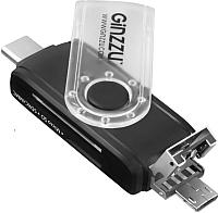 Картридер Ginzzu GR-325B -