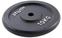Диск для штанги Starfit BB-204 (10кг, черный) -