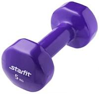 Гантель Starfit DB-101 (5кг, фиолетовый) -