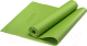 Коврик для йоги и фитнеса Starfit FM-101 PVC (173x61x0.8см, зеленый) -