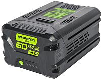 Аккумулятор для электроинструмента Greenworks G60B4 (2918407) -