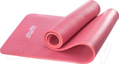 Коврик для йоги и фитнеса Starfit FM-301 NBR (183x58x1.2см, красный)