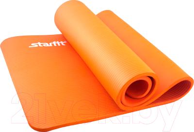 Коврик для йоги и фитнеса Starfit FM-301 NBR (183x58x1.5см, оранжевый)