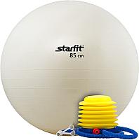 Фитбол гладкий Starfit GB-102 85см (белый) -