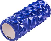 Валик для фитнеса массажный Starfit FA-504 (140x330мм, синий) -