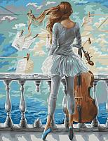 Картина по номерам Picasso Море и виолончель (РС4050365) -