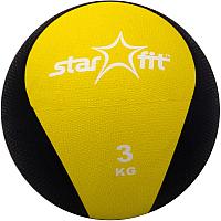 Медицинбол Starfit Pro GB-702 (3кг, желтый) -