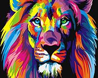 Картина по номерам Picasso Радужный лев (PC5065032) -