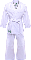 Кимоно для дзюдо Green Hill MA-301 (р-р 4/170, белый) -