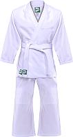 Кимоно для дзюдо Green Hill MA-302 (р-р 3/160, белый) -
