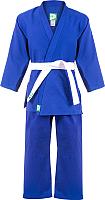 Кимоно для дзюдо Green Hill MA-302 (р-р 0/130, синий) -
