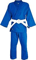 Кимоно для дзюдо Green Hill MA-302 (р-р 3/160, синий) -