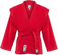 Куртка для самбо Green Hill JS-302 (р-р.5/180, красный) -