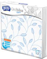 Бумажные салфетки Grite Orchidea White (33x33) -